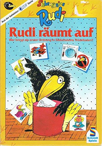 Schmidt Spiele Rabe Rudi: Rudi räumt auf