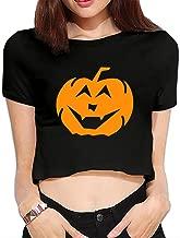 TLK Custom Women Halloween Logo Crop Top