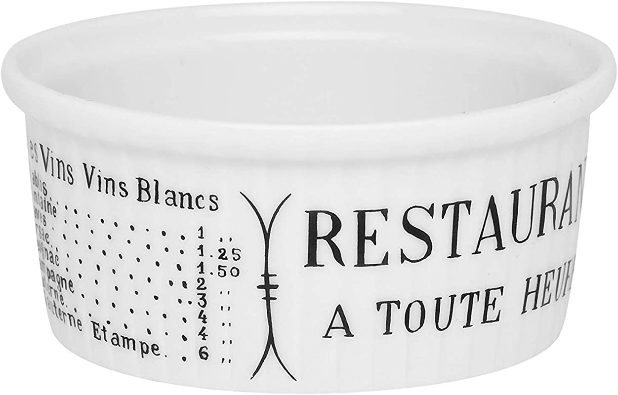 PILLIVUYT BRASSERIE Pleated Ramekin 5 Oz