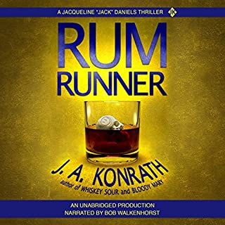 Rum Runner - A Thriller audiobook cover art
