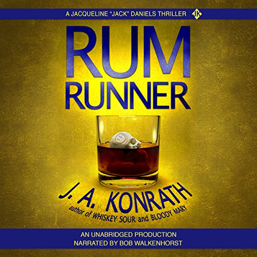 Rum Runner - A Thriller audiobook cover art