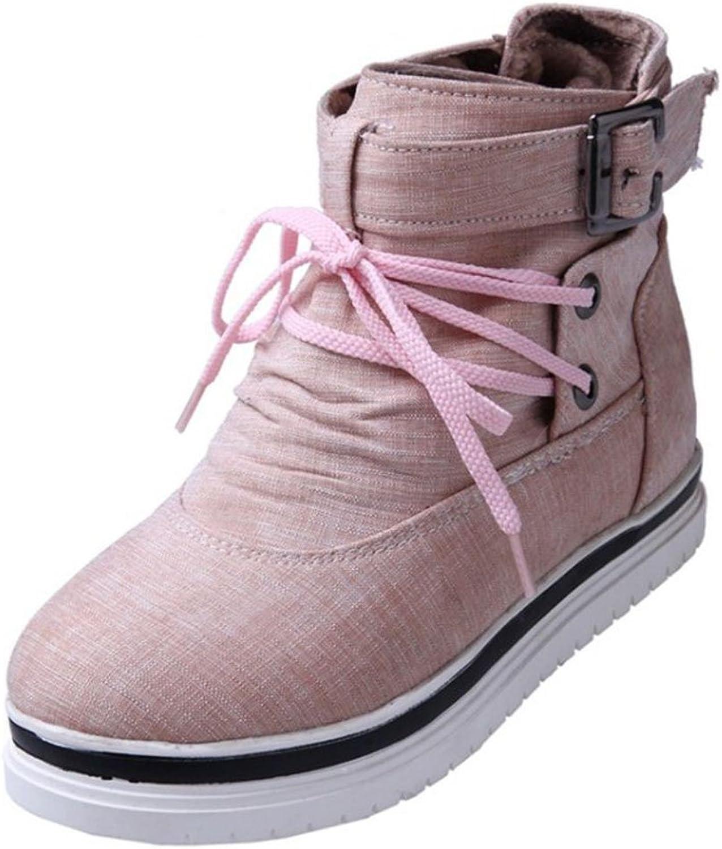 AicciAizzi Women Casual Bootie Sneaker High Top