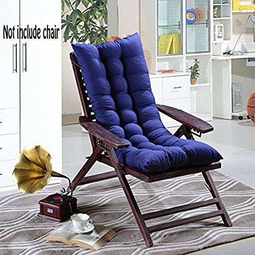 Coussin de chaise à haut dossier de 48 x 120 cm pour fauteuil inclinable pour la maison, le bureau, la chaise, la voiture et en extérieur