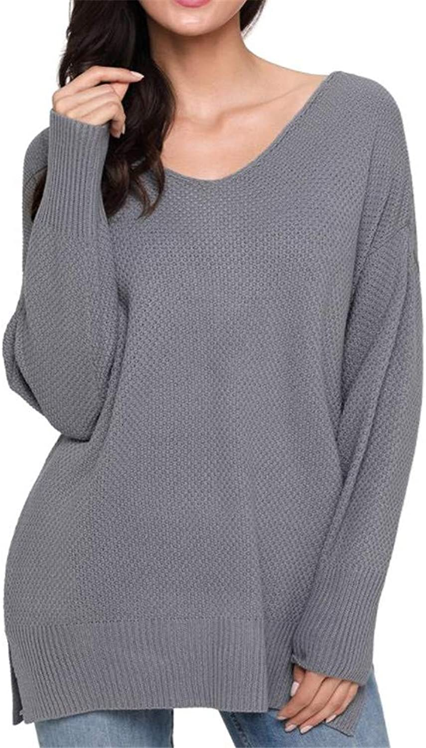 MAZF Autumn and Winter LongSleeved Head Warm Knitted Sweater Women