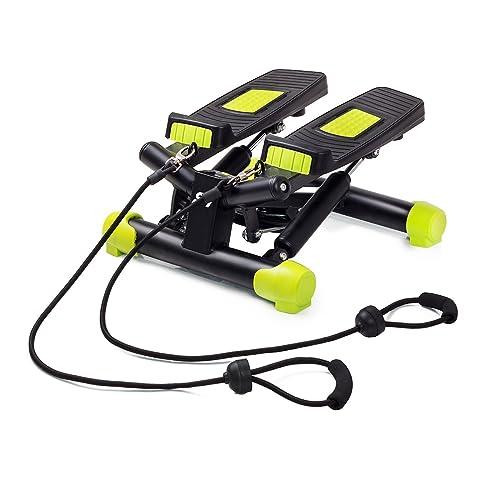 Stepper Swing Twist avec Cordes ÉLastiques + Ordinateur LCD