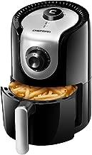 Chefman 1.6 Liter/1.7 Quart Personal Compact Mini Air Fryer, Healthy, Oil, Adjustable Temperature Control 30 Minute Timer, Dishwasher Safe Parts, BPA Free, Black
