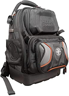 کوله پشتی ابزار کوله پشتی ، 48 جیب ابزار دستی ، ابزار بزرگ وظیفه سنگین برقی کوله پشتی Klein 55485