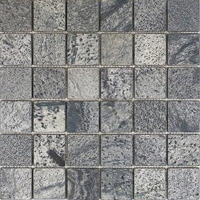 Epoch Tile OG2X2 2x2 Tumbled Slate, Ostrich Grey