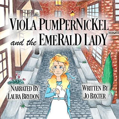 Viola Pumpernickel and the Emerald Lady audiobook cover art
