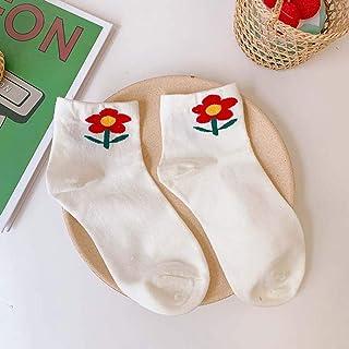 Calcetines de algodón Suave con Estampado de Flores