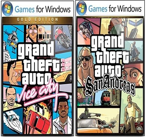GTA (COMBO) -San Andraes & Vic-City – Digital Download – [ NO DVD NO CD ] – [No Multiplayer/No Redeem* Code] -Full PC GAME