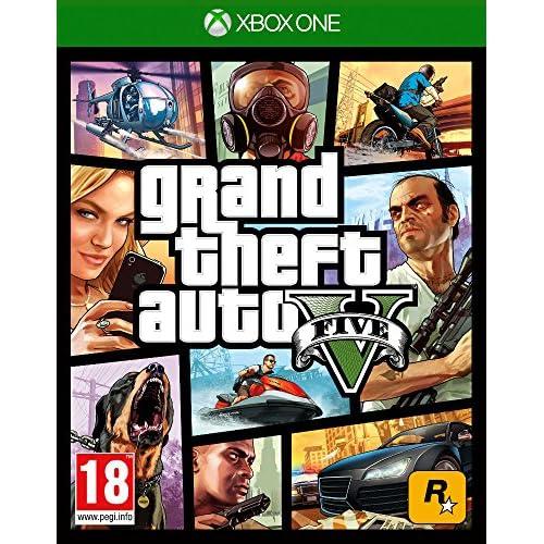 Grand Theft Auto Five-V Xbox1- Xbox One