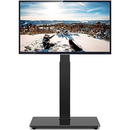 TVON テレビスタンド 32-65インチ対応 壁寄せテレビスタンド ハイタイプ 液晶テレビ台 ラック回転可能 高さ調節可能 TVスタンド 耐荷重50kg VESA600*400mmまで LCD/LED/OLED/PLASMA対応 ブラック