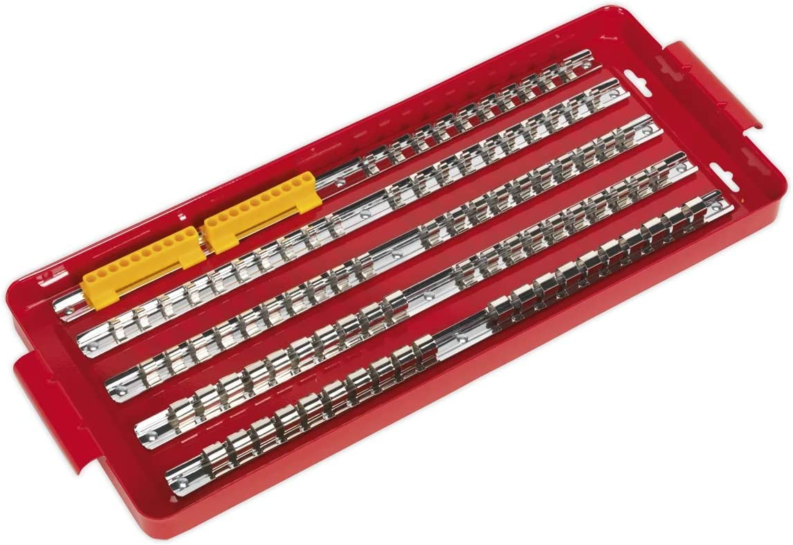 Sealey AK272 Socket Rail Directly managed New arrival store Tray 1 Drive 3 2