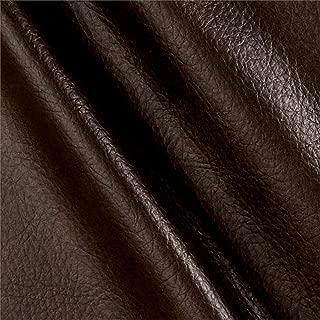 Richloom Fabrics Richloom Tough Faux Leather Longville Chocolate