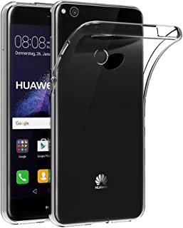 Case for Huawei P9 Lite (2017) / Huawei P8 Lite (2017) / Honor 8 Lite (5.2 inch) MaiJin Soft TPU Rubber Gel Bumper Transpa...