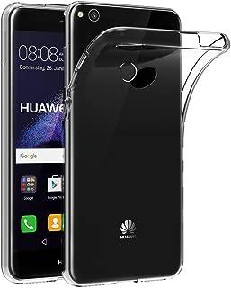 Case for Honor 8 Lite/Huawei P9 Lite 2017 / P8 Lite 2017 (5.2 inch) MaiJin Soft TPU Rubber Gel Bumper Transparent Back Cover