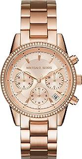 ساعة رسمية للنساء من مايكل كورس بسوار ستانلس ستيل - MK6357