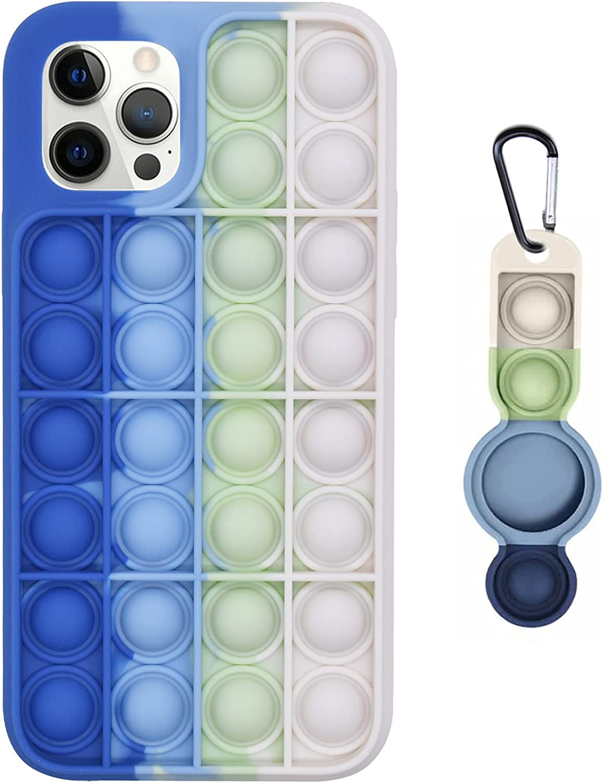 Pop Fidget Large-scale sale Phone Case famous Sensory It Push Bubble Popper Wrap