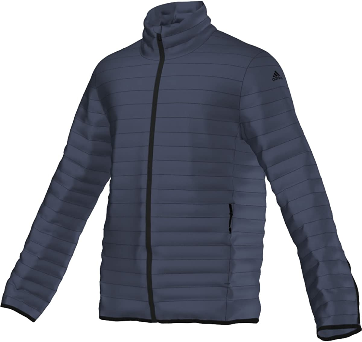 adidas Outdoor Men's super Light Weight Down Jacket, Col. Navy, Large