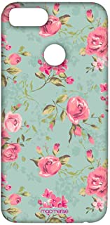 Macmerise Teal Pink Flowers Sublime Case For Xiaomi Mi A1, Multi Color