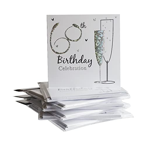 Simon Elvin 60th Birthday Party Invitations 36 Multipack Cards With Envelopes