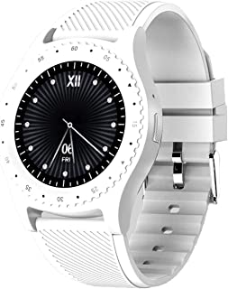 Bluetooth Smart Horloge Vrouwen/Mannen Fitness Tracker met SIM-kaartsleuf Slaapmonitor Calorie Teller Horloge Compatibel I...
