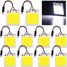 DC 12V LED Panel COB Strip Light 70W Chip Warm White FLIP Module TUBE Car Lamp