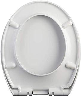 LYQQQQ Toiletbril Universele O-Stijl Toilet Deksel Urea-Formaldehyde Drop Mute Top Lading Eenvoudig te installeren Verdikt...