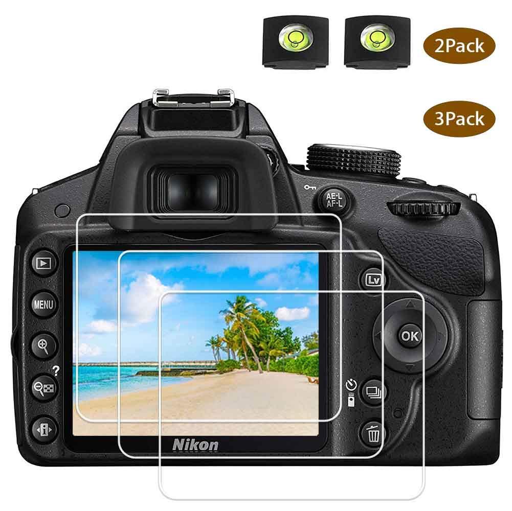 D3400 D3500 Protector pantalla de cristal para cámara Nikon D3500 ...