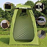 Shower Privacy Toilet Tent Changing Room Privacy Tent–Instant Portable Outdoor Shower Tent, Camp