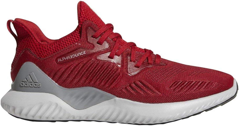 Adidas Men's Alphabounce Beyond Team Running schuhe, Power rot Weiß schwarz, 6.5 M US