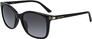 CALVIN KLEIN Women's Sunglasses Square, Ck American Essentials - Black