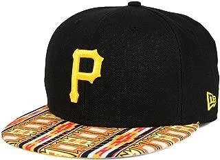 New Era Pittsburgh Pirates Adjustable 9Fifty MLB Flat Bill Baseball Cap 950