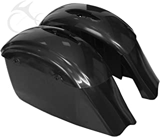 TCMT Unpainted Hard Saddlebags Fits For Indian Chieftain 14-17 Chieftain Dark Horse 16-17