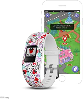 Garmin Vívofit Jr 2, Kids Fitness/Activity Tracker, 1-Year Battery Life, Adjustable Band, minnie mouse