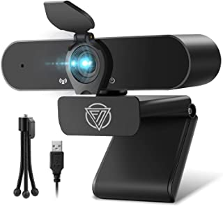 2020 Newest Webcam with Microphone 1080P USB Computer Camera Full HD Widescreen Web Camera for Desktop PC Laptop Mac Zoom ...