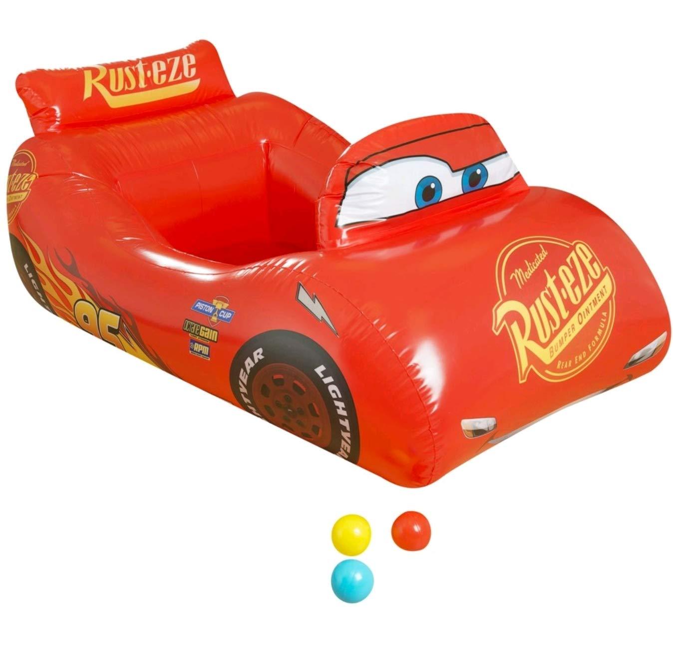 Sambro Piscina con 10 Bolas de Cars 3, Color Rojo (DSC8-7094 ...