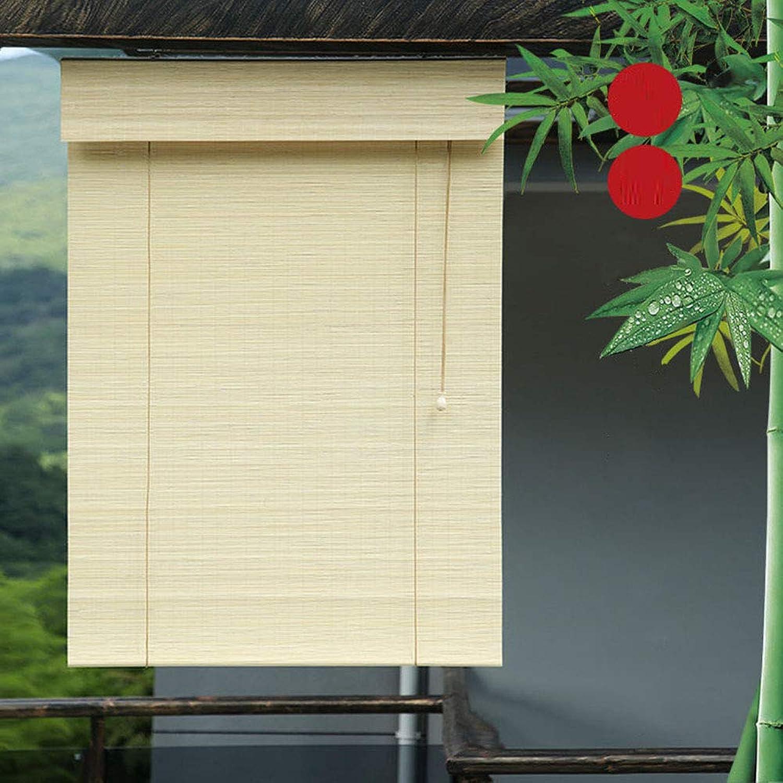solo cómpralo CXF Estor Parasol Retro, Persiana Enrollable De Bambú,Estores De De De 60x160cm, Interiores Exteriores, Personalizables  barato en alta calidad