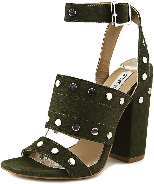 Steve Madden Jansen Women US 6.5 Green Sandals
