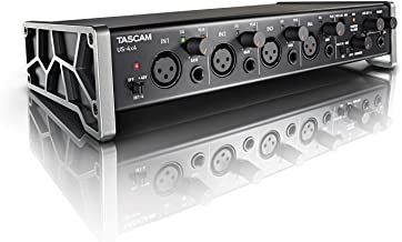 Tascam US-4x4 USB Audio/MIDI Interface with Microphone Preamps and iOS Compatibility