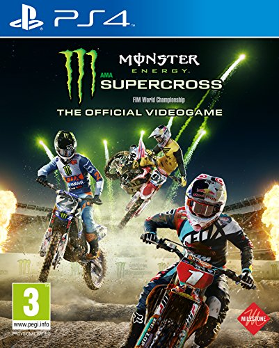 Monster Energy Supercross - The Official Videogame - PlayStation 4 [Importación inglesa]