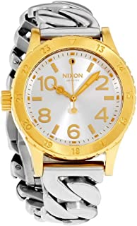 Nixon Women's '38-20' Quartz Stainless Steel Watch, Color:Silver-Toned (Model: A4102281-00)