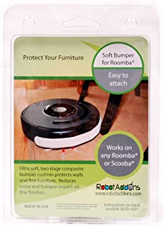 Robot Add-Ons Ultra Soft Bumper for Roomba or Scooba