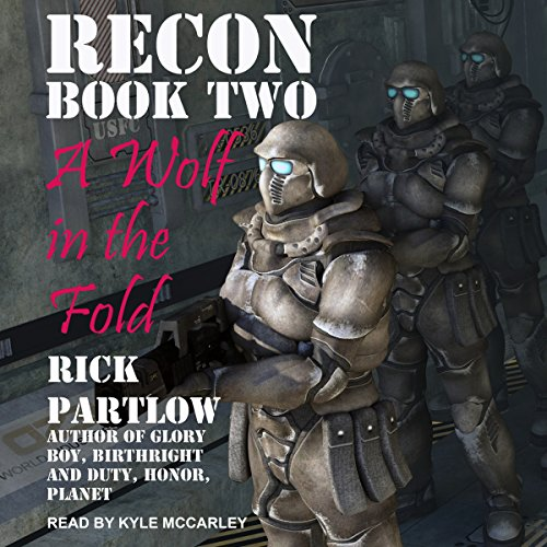 A Wolf in the Fold audiobook cover art