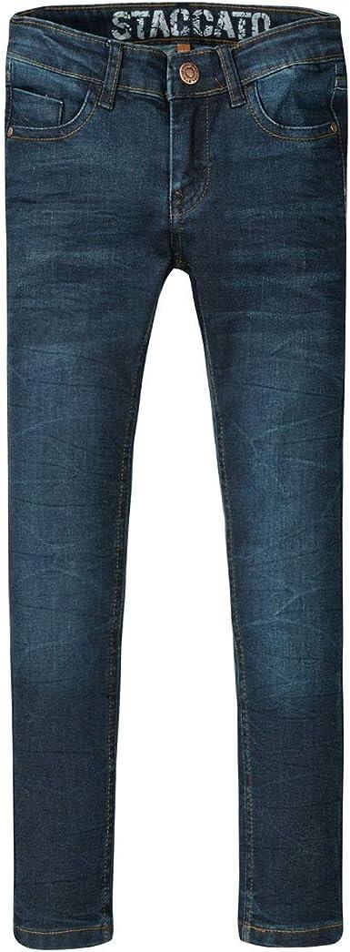 Jungen Jeans Hose Slim Gr 140 TOP