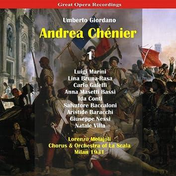 Giordano: Andrea Chénier, Vol. 1 [1931]