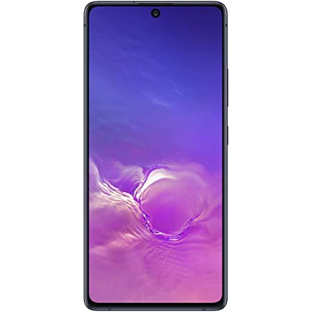 Samsung Galaxy S10 Lite Dual SIM 128GB 6GB RAM SM-G770F/DS, GSM Unlocked, International Version - Prism Black
