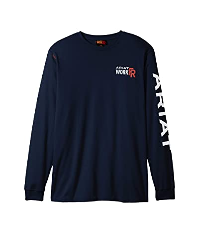 Ariat FR Logo T-Shirt (Navy) Men