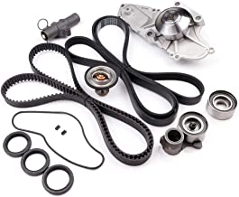 cciyu Timing Belt Water Pump with Gasket Tensioner Bearing Fits 2003 2004 2005 2006 2007 2008 2009 2010 2011 2012 2013 2014 2015 Acura MDX 2005 2006 2007 Honda Accord 3.0L 3.2L 3.5L 3.7L V6 Gas SOHC